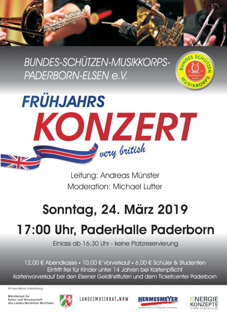"""Frühjahrskonzert """"very british"""" @ Paderhalle"""
