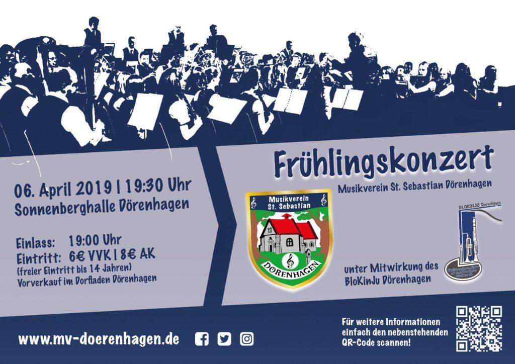 Frühlingskonzert MV Dörenhagen @ Sonnenberghalle in Dörenhagen