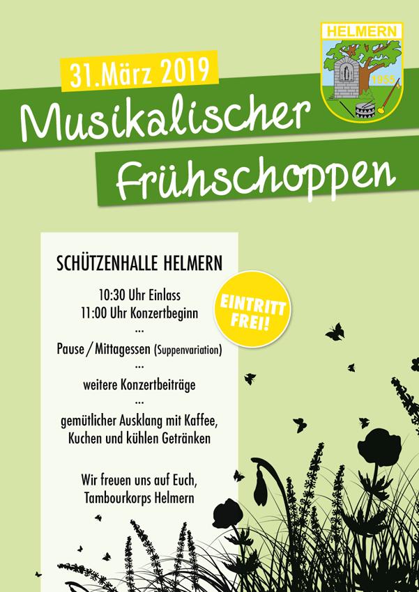 Musikalischer Frühschoppen @ Schützenhalle Helmern